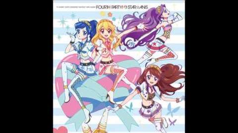 アイカツ G線上のShining Sky STAR☆ANIS from FORTH PARTY CD音源