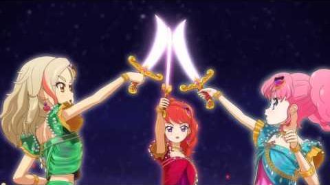 (HD)Aikatsu!-Vanilla Chil Pepper-Chica x Chica (Episode 149)