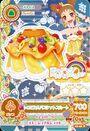 Card falda naranja frutal