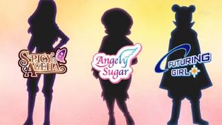 Schatten top-designer angely sugar futuring girl spicy ageha