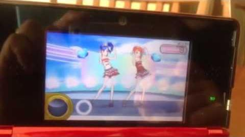 3DSアイカツシンデレラレッスンプレイ