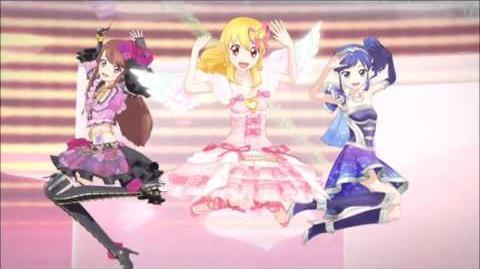Aikatsu! - Ichigo Aoi & Ran - Calendar girl