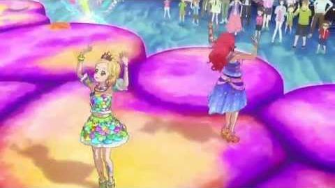 (HD)Aikatsu!-Hinaki&Juri-Poppin' Bubbles (Episode 120)