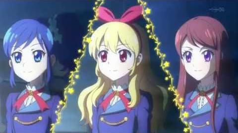 Aktifitas Idol! - Rahasia Senyuman (☆Ichigo Hoshimiya, Aoi Kiriya & Ran Shibuki ♪Original Star☆彡)