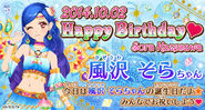 Bnr sora-birthday