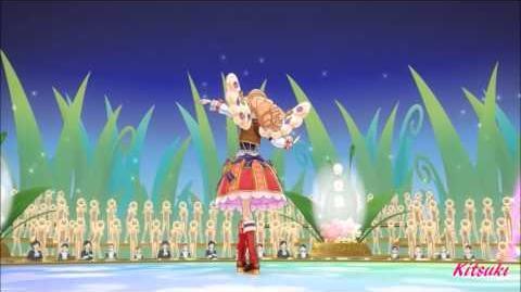 【HD】Aikatsu! - episode 68 - Maria - Aurora Princess - with changing【中文字幕】