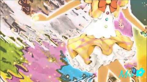 Aikatsu! (Episode 10) - Arisugawa Otome & Hoshimiya Ichigo - Angel Snow