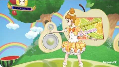 (HD) Aikatsu! - Arisugawa Otome & Hoshimiya Ichigo - Angel Snow (episode 10)