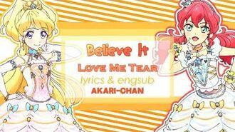 LYRICS & ENGSUB Believe it - Aikatsu Friends!-2