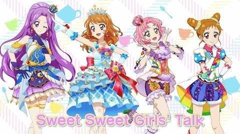 【アイカツ!フォトonステージ!!】オリジナル新曲「Sweet Sweet Girls' Talk」 プロモーションムービー(フォトカツ!)