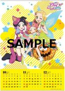 AkariGen BDBOX3 RakutenEd Calendar Poster