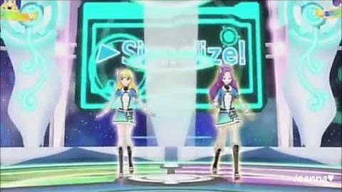 Aikatsu! - Hoshimiya Ichigo & Kanzaki Mizuki - SPECIAL STAGE! (episode 17)