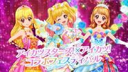 Data Carddass Aikatsu Stars! and Aikatsu! Premium Dress