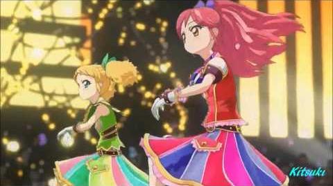 【HD】Aikatsu! - episode 62 - all six girls - We Wish Your Marry Chirstmas