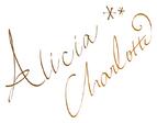 Alicia's autograph