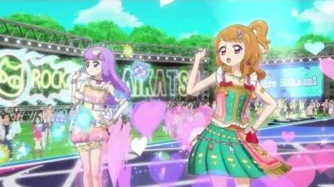 (HD)Aikatsu!-Akari&Sumire-Hey! little girl (Episode 139)