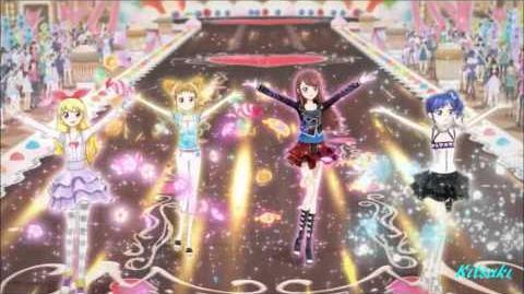 【HD】Aikatsu! - episode 18 - All 4 girls- Growing for a Dream-0