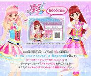 Aikatsu pass play set campaign