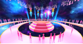Stardom dance stage