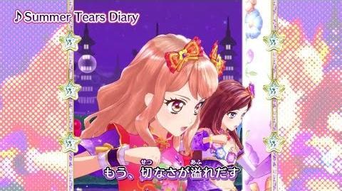 アイカツスターズ!ミュージックビデオ『Summer Tears Diary』をお届け♪