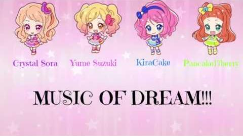 ☆Yume & Pancake17berry & Crystal Sora & KaraCake☆ 「✿ MUSIC OF DREAMS!!!✿」Japanese Group Song Cover-0