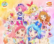 Aikatsu!,Aikatsu Stars! & Aikatsu Friends! Cafe Namco