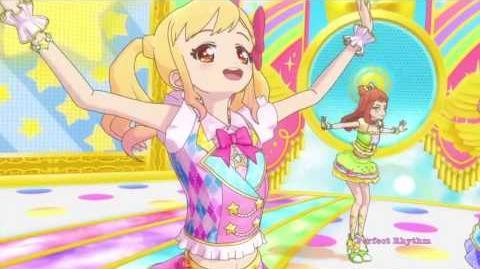 Aikatsu Stars! ~ Aikatsu Step - Yume, Laura, Mahiru, Ako (Episode 24)