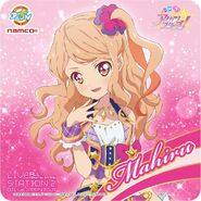 Mahiru Aikatsu Stars on Cafe Namco