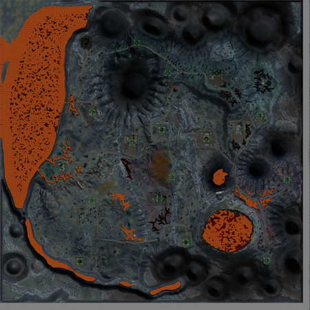 Volcano Sector map clear
