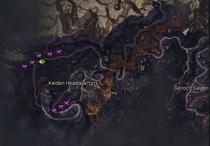 Bladeclaw locations
