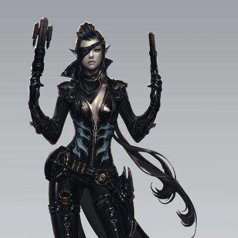 Female concept art.