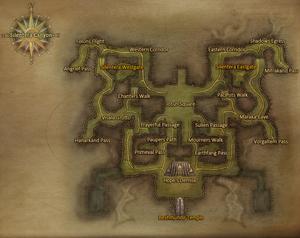 Silentera Canyon map