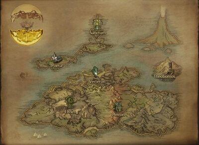 Elysea Mapa