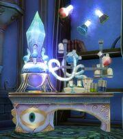 Alchemie-Tisch