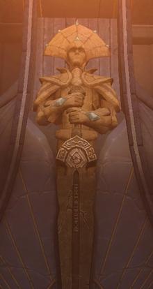 Danuar statue