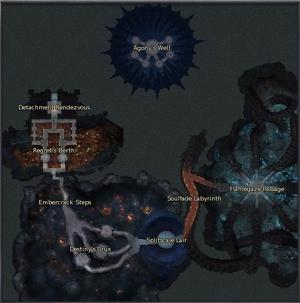 Drakenspire Depths map