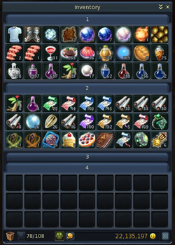Expanded inventory