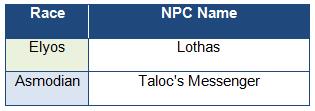 Taloc NPC
