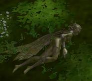 Sleeping Sylfae Queen