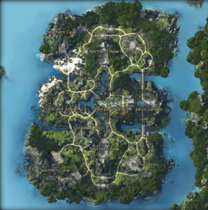 Evergale - Map