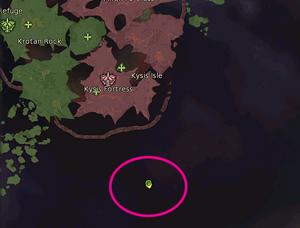 Black Cloud Island Location