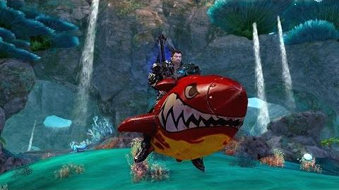 Aion Upheaval - Afterburner Mount