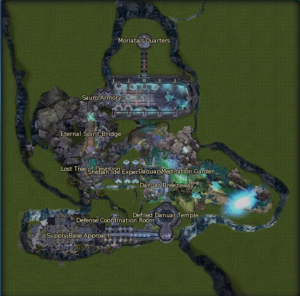 Sauro Supply Base map