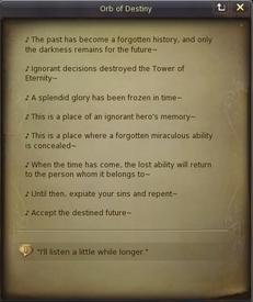 Orb of Memory
