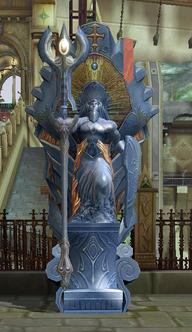 Gray Teleport Statue