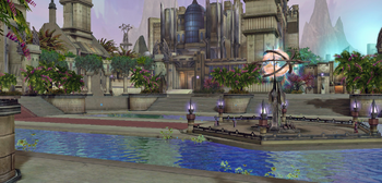 Pandaemonium Plaza Fountain
