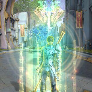 Magic Mantra's activation animation.