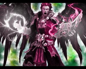 Aion Sorcerer Wallpaper by VampSP