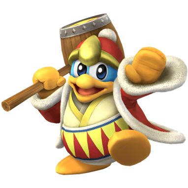 King Dedede Clear SSBB