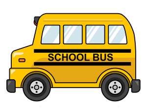 ALL ABORD THE CLIPART SCHOOL BUS